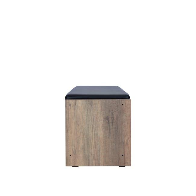 Echo Shoe Cabinet - Walnut - 3