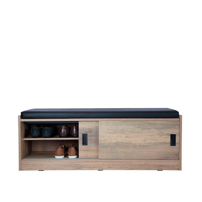Echo Shoe Cabinet - Walnut - 10