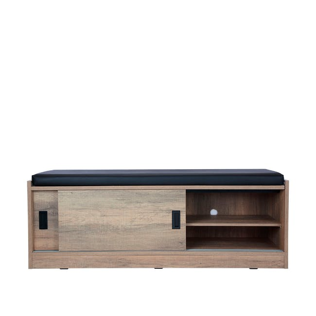 Echo Shoe Cabinet - Walnut - 14