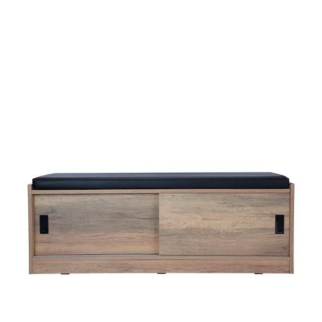Echo Shoe Cabinet - Walnut - 2