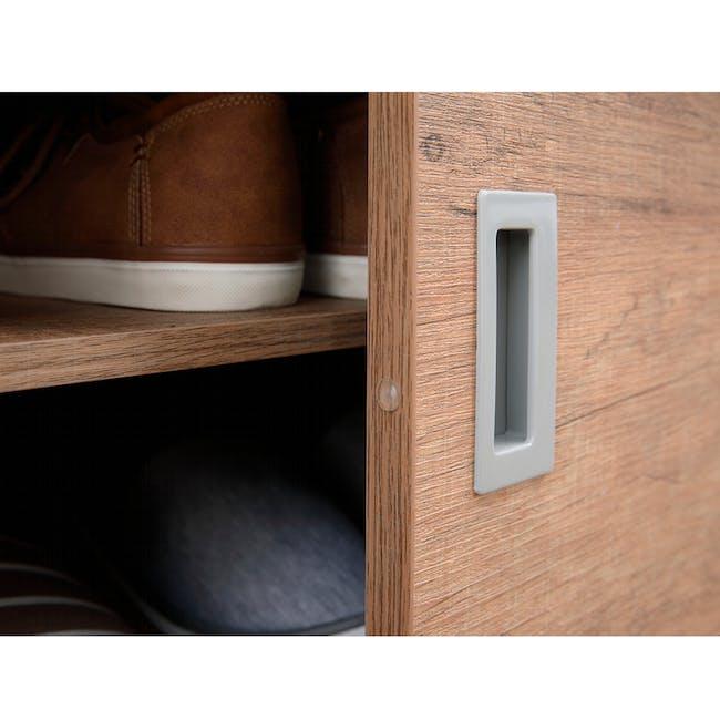 Echo Shoe Cabinet - Walnut - 7