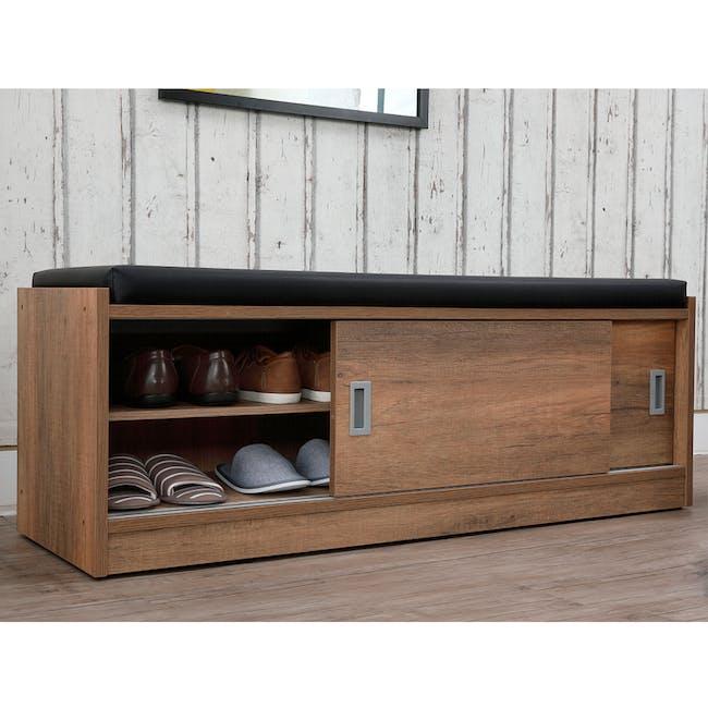 Echo Shoe Cabinet - Walnut - 1