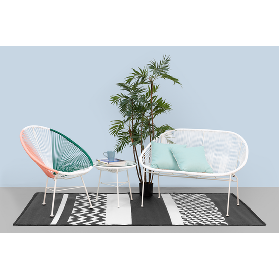 Acapulco - Acapulco Chair - Pink, White, Green Mix