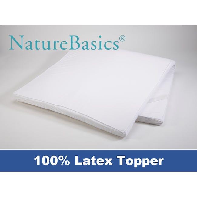 Nature Basics 100% Latex Mattress Topper (4 Sizes) - 0