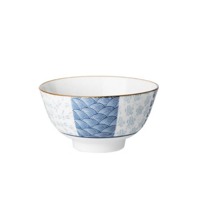 Blue Ocean Small Bowl (Set of 4) - 0