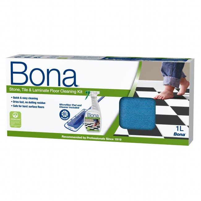 Bona Tile and Laminate Cleaning Kit - 1