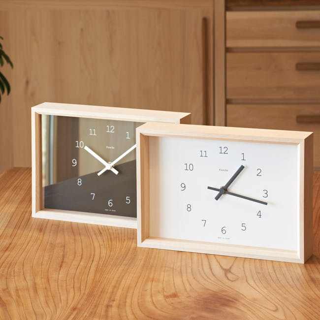 Kaede Clock - Brown - 1