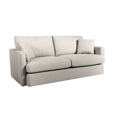 Ashley 3 Seater Lounge Sofa - Cream - Image 2