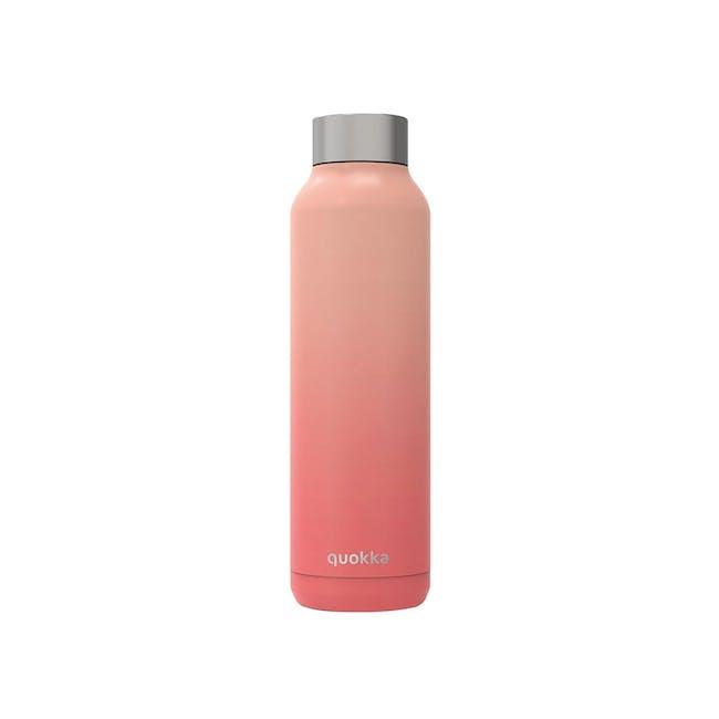 Quokka Stainless Steel Bottle Solid - Peach 630ml - 0