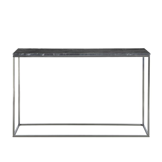 (As-is) Amelia Marble Console Table 1.2m - Grey, Chrome - 2 - 7