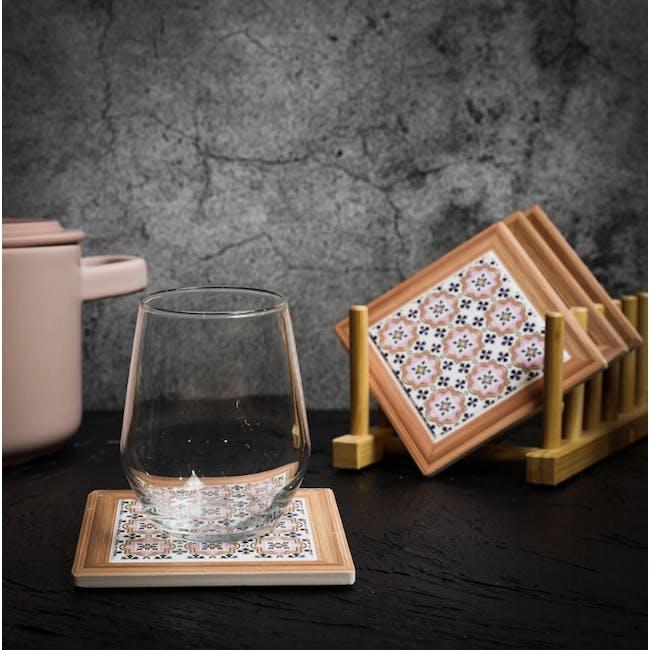 Peranakan Ceramic Cup Coaster - Esme - 1