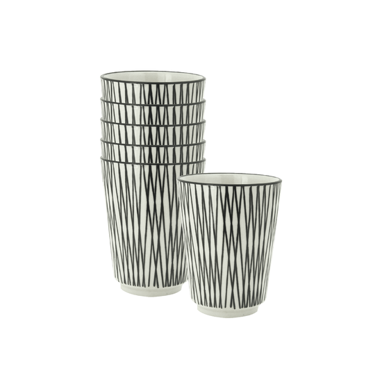 Helga - Vertiver Cup - White, Crossed