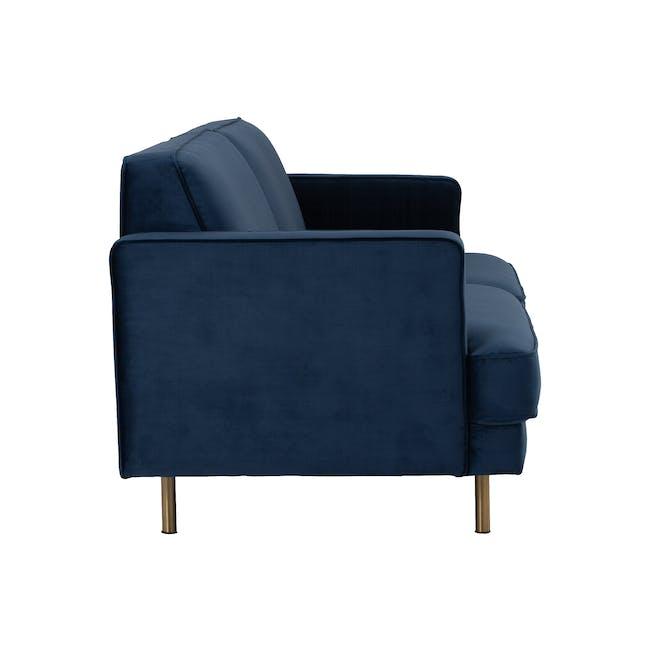 Otto 3 Seater Sofa - Peacock (Velvet) - 3