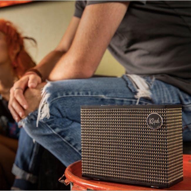 Klipsch Heritage Groove Wireless Speaker - Matte Black - 2