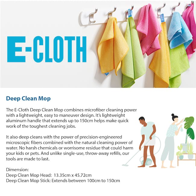 e-cloth Deep Clean Eco Mop Cleaning & Mopping - 1