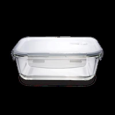 PICNIC Rectangular Glass Food Storage with Lid - 640 ml - Image 1