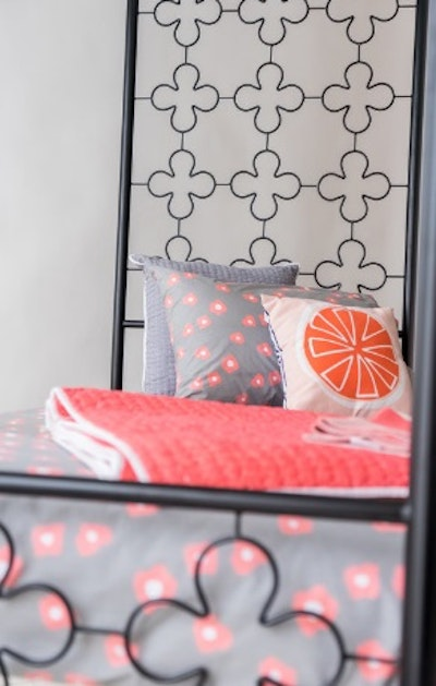 Four Poster Wrought Iron Bed