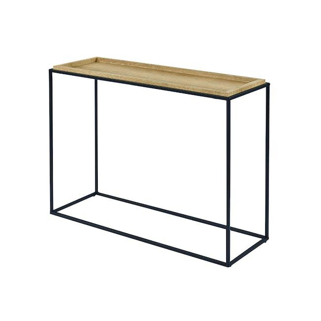 Dana Console Table 1.1m - Oak - 5
