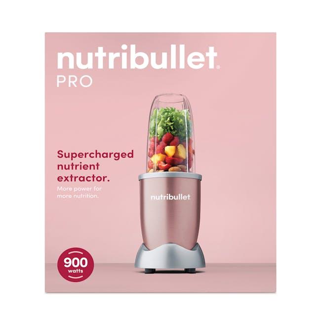 NutriBullet Pro 900W - Rose Gold - 5