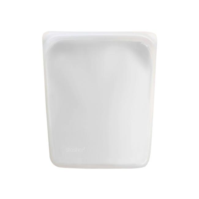 Stasher Reusable Silicone Bag - Half Gallon - Clear - 2