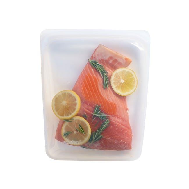 Stasher Reusable Silicone Bag - Half Gallon - Clear - 0