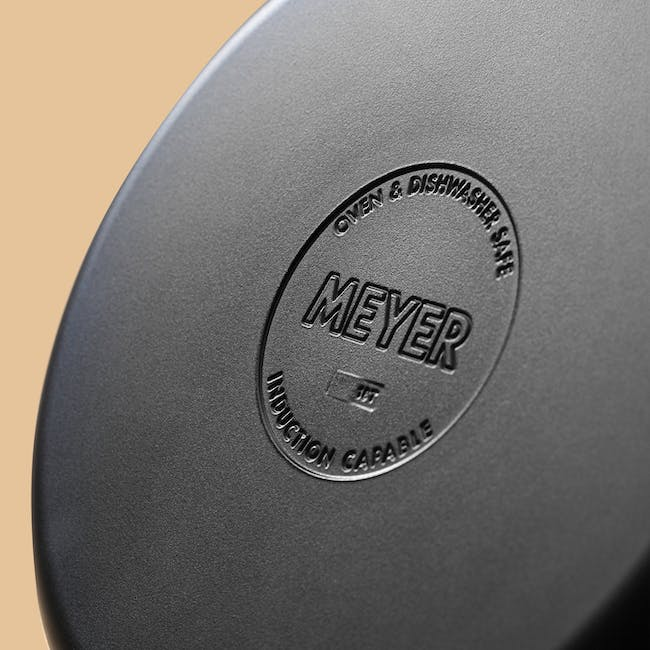 Meyer Accent Series Stainless Steel Stockpot With Lid - 24cm 6.2L - 8