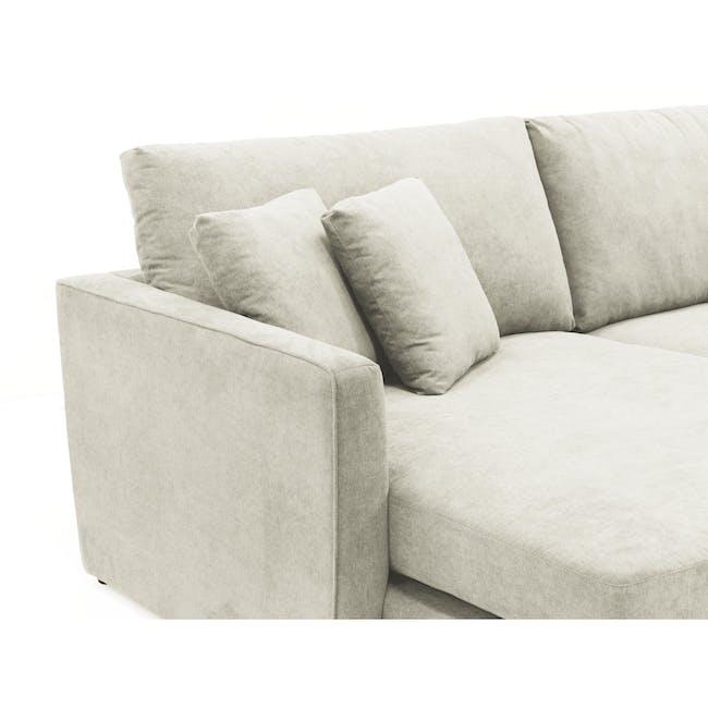 Ashley L-Shaped Lounge Sofa -Pearl - 5