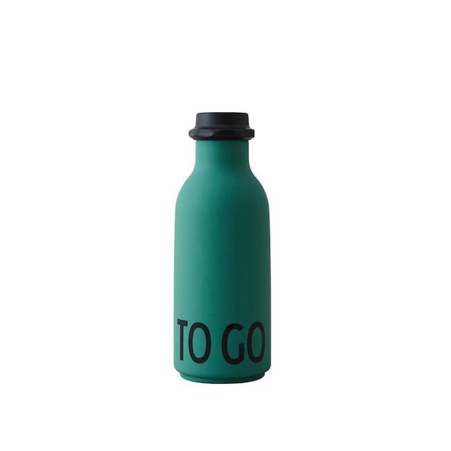 To Go Water Bottle - Dark Green 500ml - 0