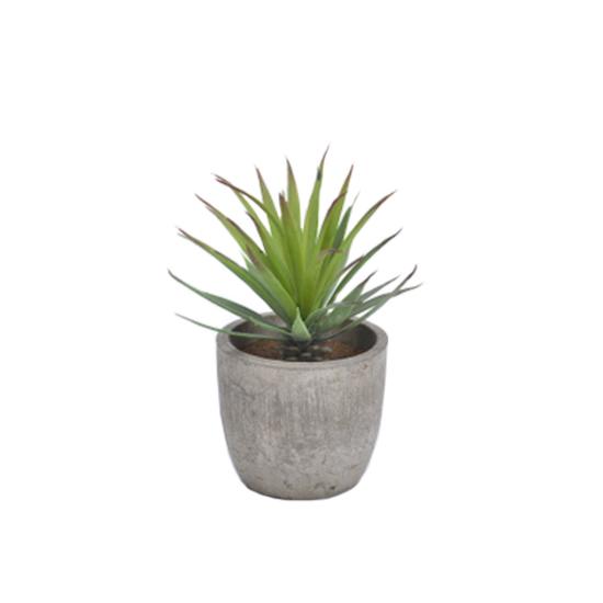 1688 - Faux Aloe Plant 19 cm