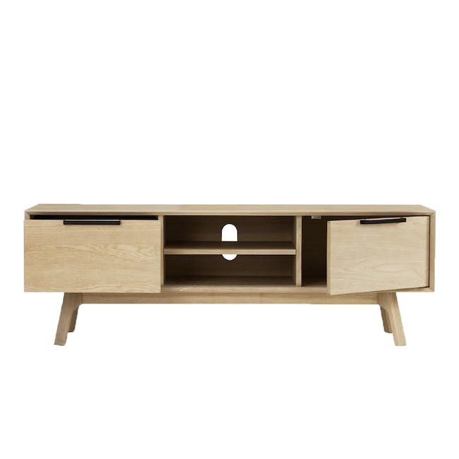 Noud TV Console 1.5m with Nora Rattan Coffee Table - 3