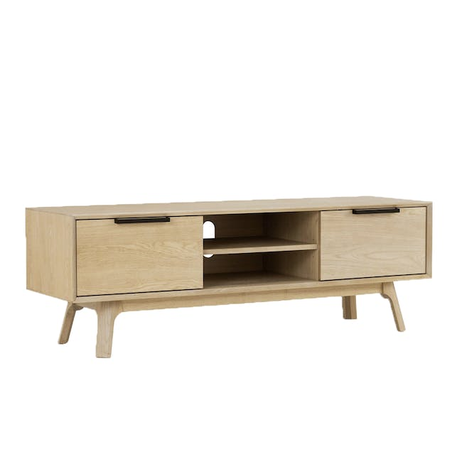Noud TV Console 1.5m with Nora Rattan Coffee Table - 4
