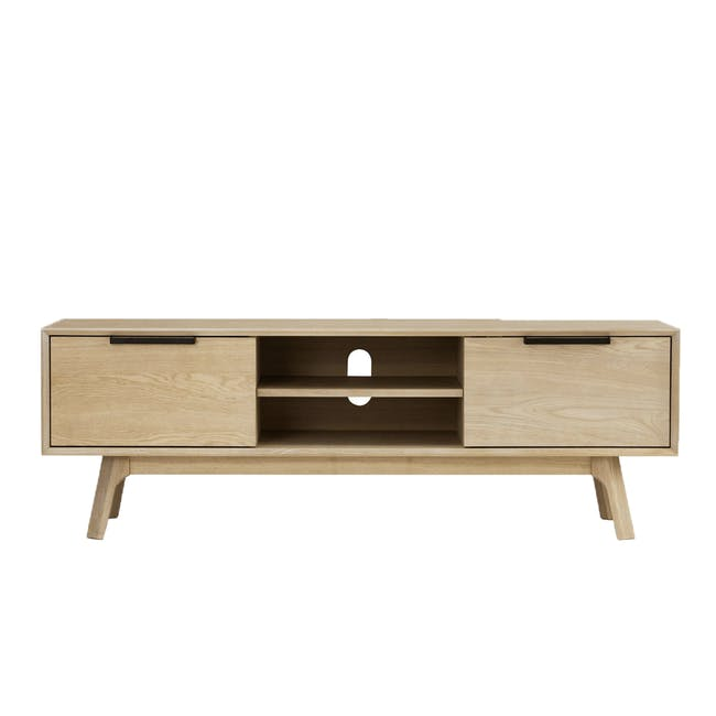 Noud TV Console 1.5m with Nora Rattan Coffee Table - 5