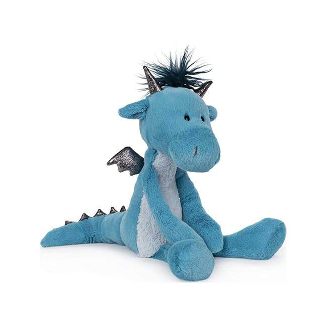 Gund Toothpick Asher Dragon Plush Soft Toy Blue 15 Inches - 3