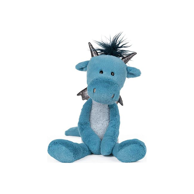 Gund Toothpick Asher Dragon Plush Soft Toy Blue 15 Inches - 0