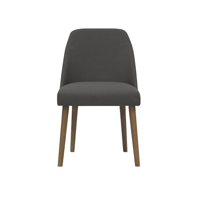 Miranda Chair - Cocoa, Onyx Grey - 1