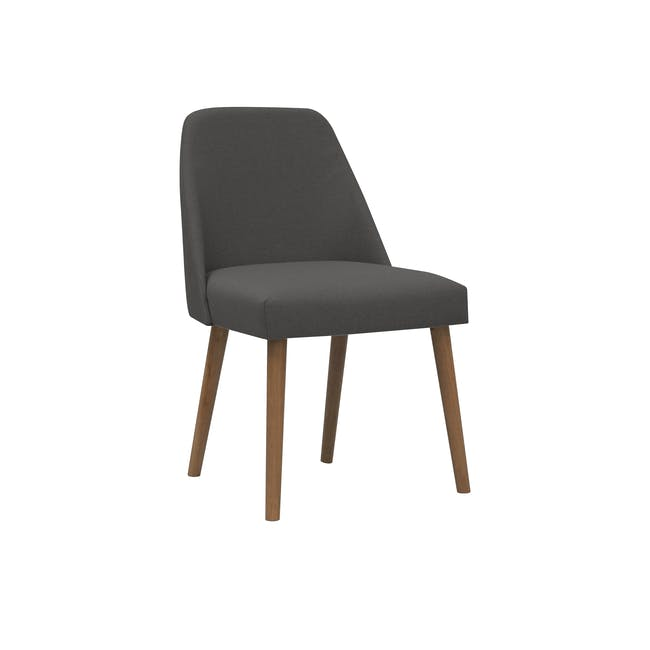 Miranda Chair - Cocoa, Onyx Grey - 0