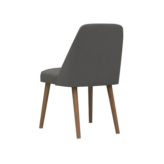 Miranda Chair - Cocoa, Onyx Grey - 2