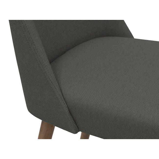 Miranda Chair - Walnut, Onyx Black - 3