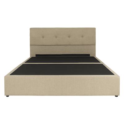 Maggie Headboard Bed - Sand (Fabric) - Image 1