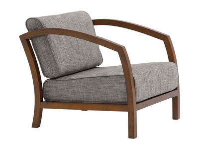 Velda Lounge Chair - Cocoa, Pebble