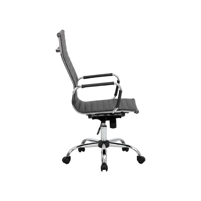 Eames High Back Office Chair Replica - Black (PU) - 5