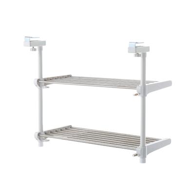 Heian2-Tier Adjustable Kitchen Hanging Shelf - Image 1