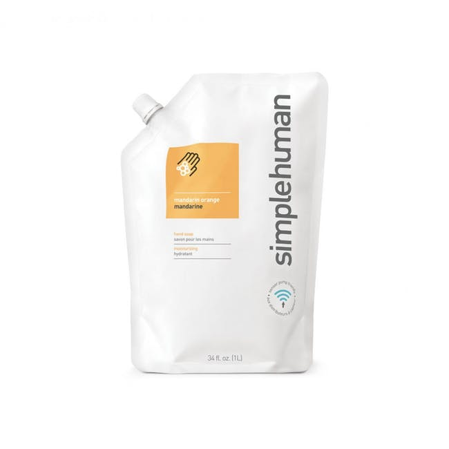 simplehuman HandSoap 1L Refill - Mandarin Orange - 0