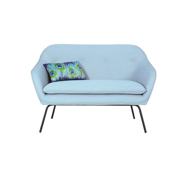Vayne 2 Seater Sofa - Aquamarine - 3