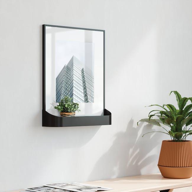 Matinee Photo Display with Shelf - Black - 3