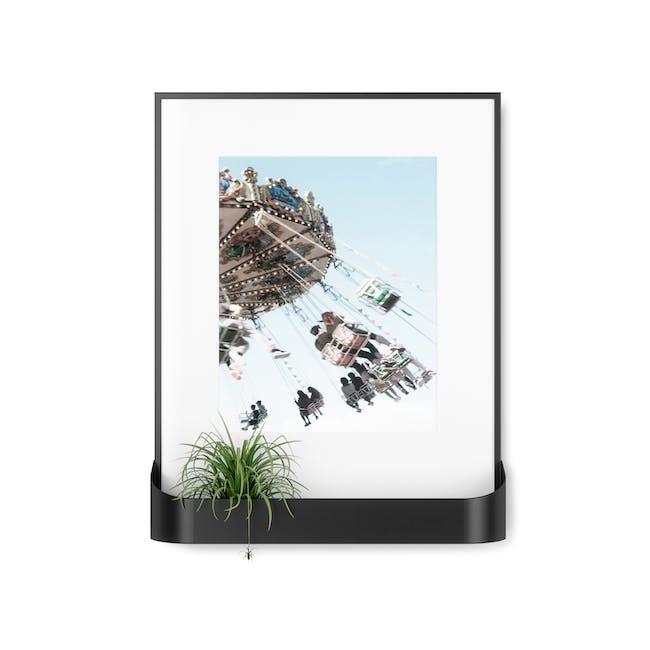 Matinee Photo Display with Shelf - Black - 0