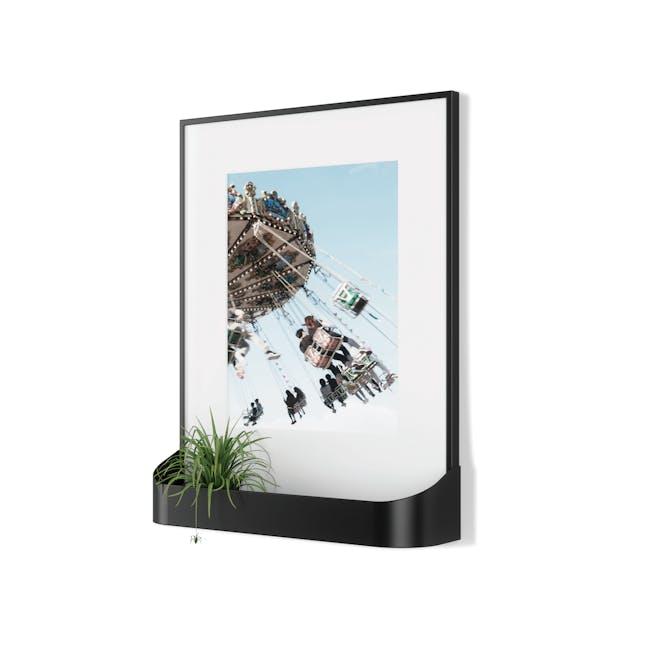 Matinee Photo Display with Shelf - Black - 1