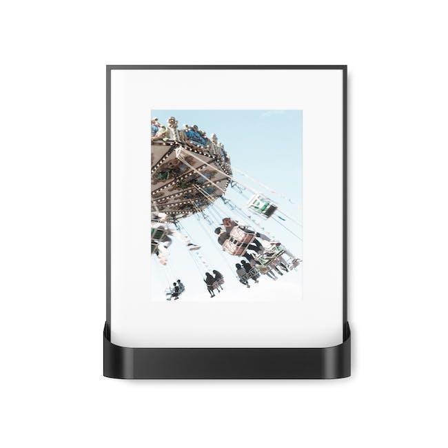 Matinee Photo Display with Shelf - Black - 2