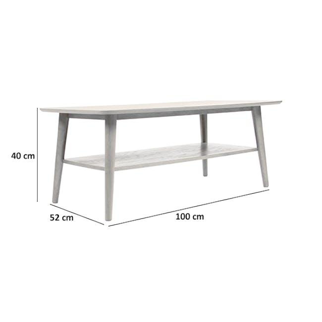 Blythe Coffee Table - Oak - 6