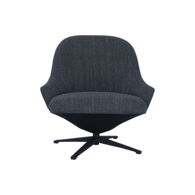 Cabrio Swivel Lounge Chair - Seal - Image 1